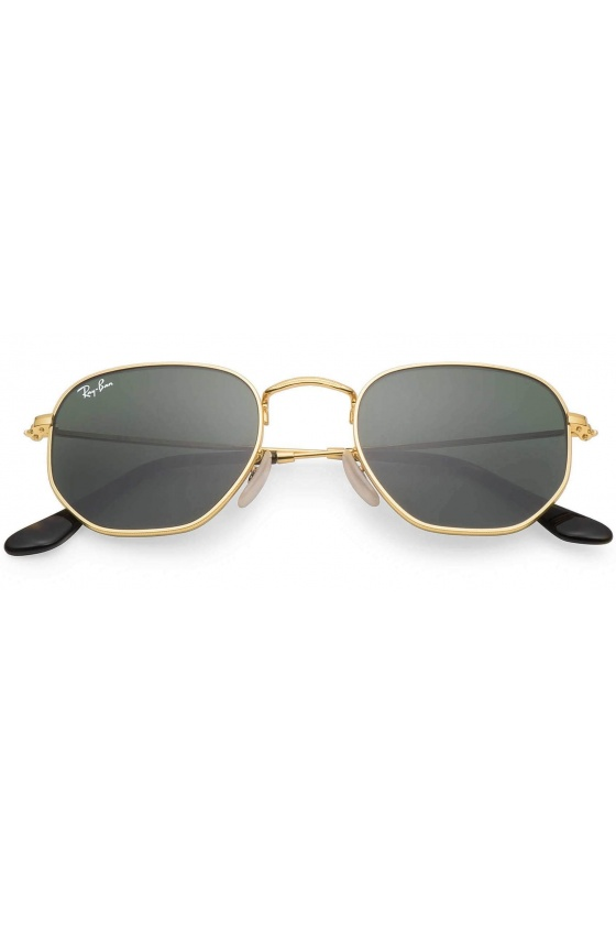 RAY-BAN RB3548N 001 54 HEXAGONAL FLAT LENSES