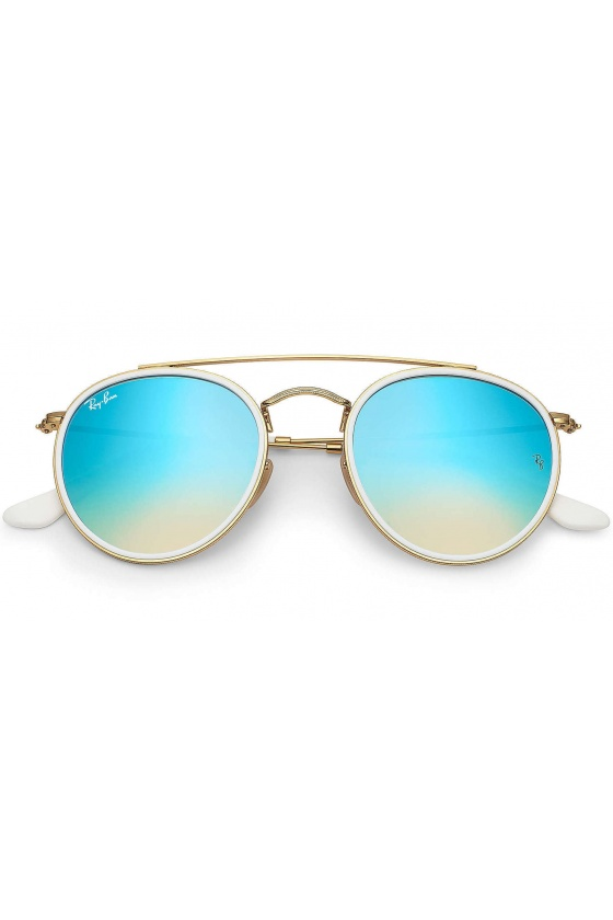 RAY-BAN RB3647N 001/4O ROUND DOUBLE BRIDGE
