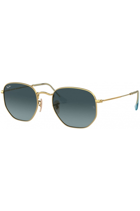 Ray-Ban RB3548N 91233M Hexagonal Flat Lenses