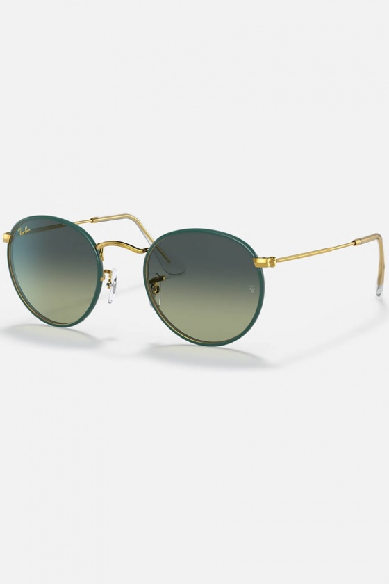 Ray-Ban RB3447JM 9196BH Round metal full color legend