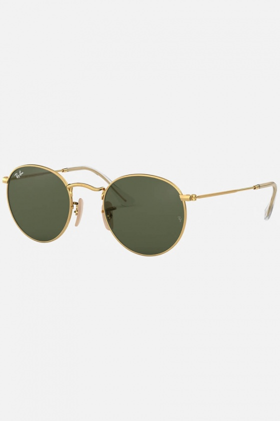 Ray-Ban RB3447 001 47 Round Metal